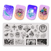 Star Moon Points Design Nail Stamping Plates BBBXL-100(US Warehouse)