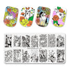Flower Animal Mixed Pattern Nail Stamping Plates BBBXL-102(US Warehouse)