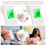 Non-Contact Infrared Digital Thermometer with Fever Alarm