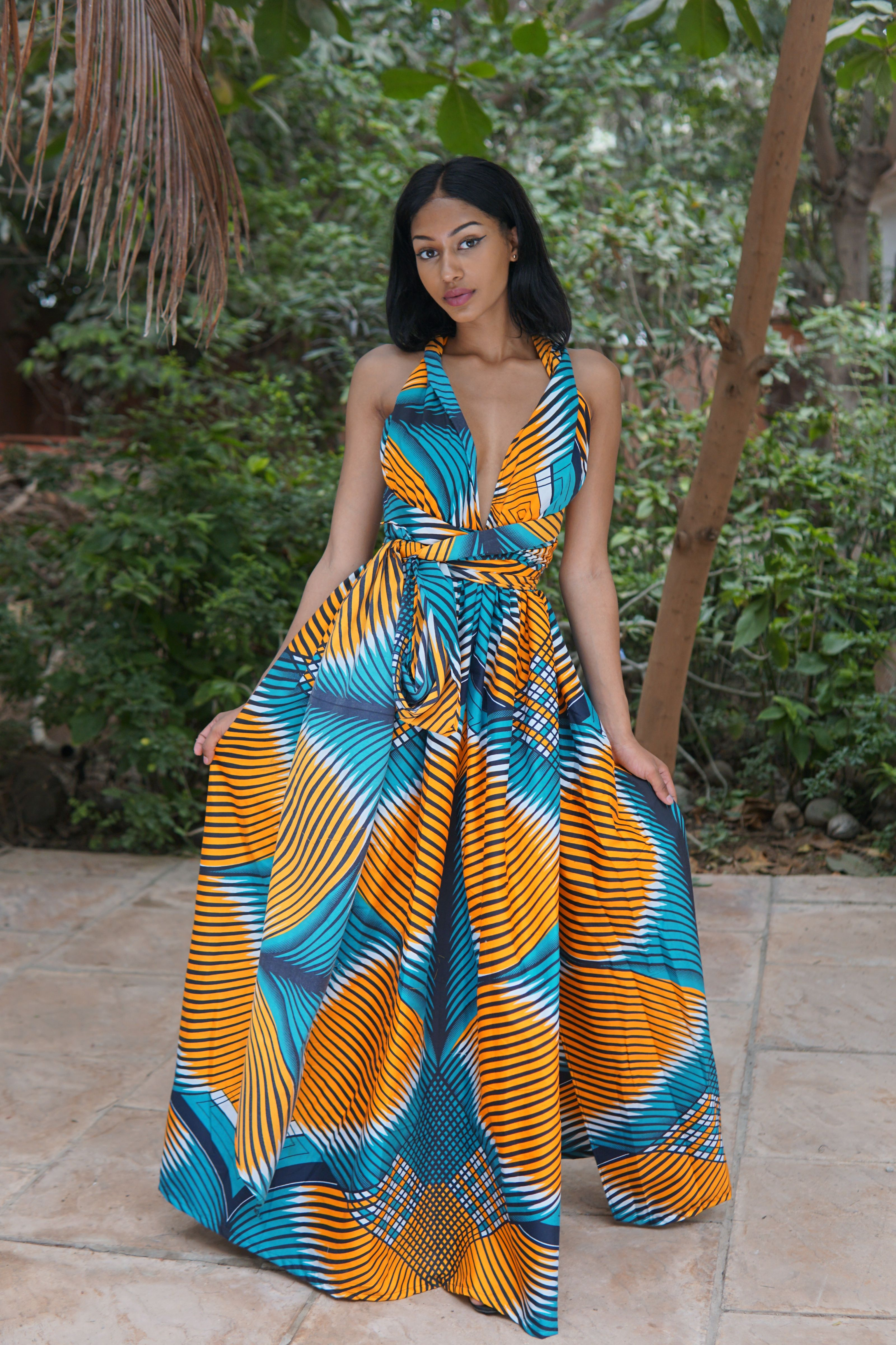 Swirl - Multiway Maxi Dress