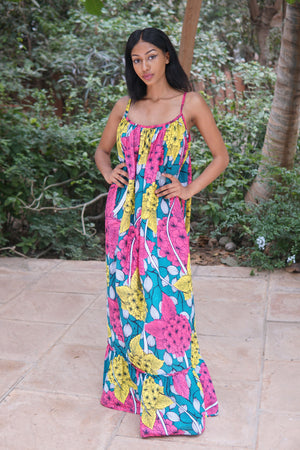 Hibiscus - Zdenka Maxi Dress