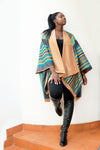 Aita Reversible Wool Poncho