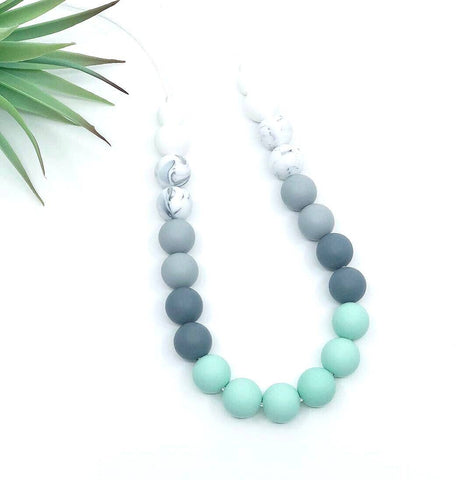 Ombre Teething Necklace