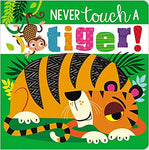 Never Touch a Tiger Sensory Book