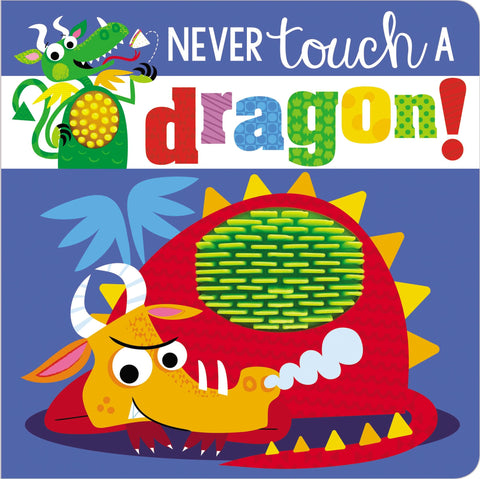 Never Touch a Dragon Sensory Book