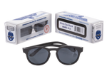 Black baby and toddler sunglasses with a nice box