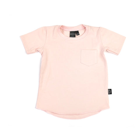 Blush Pocket Tee