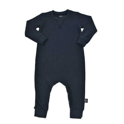 Handmade in Canada baby and toddler fleece sleeper romper
