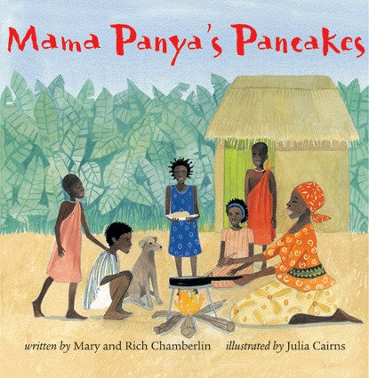 Mama Panya's Pancakes diverse children's story featuring bipoc characters