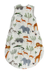 A soft, eco friendly sleep sack made with muslin fabric