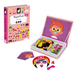 Crazy Faces Magnet Book 3-8 years - Pink