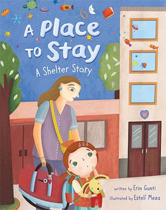 A place to stay children's book