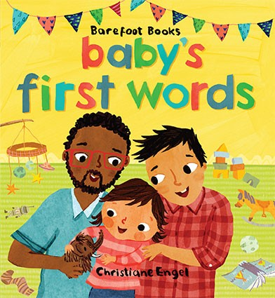 baby's first words bipoc lgbtq gay children's book with diverse characters