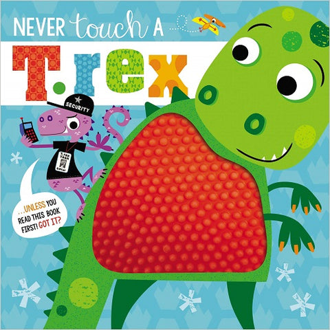Never Touch a T Rex Interactive Book