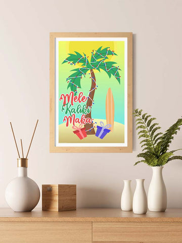 Mele Kalikimaka Palm tree
