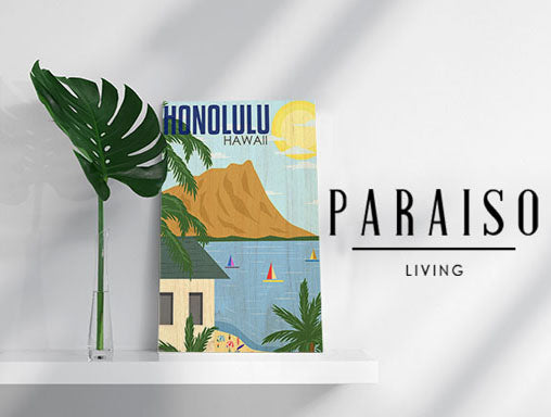 Honolulu Hawaii Retro Modern