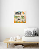 Hawaii is my Happy Place - Wood Print