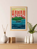 Hawaiian Island Travel Print