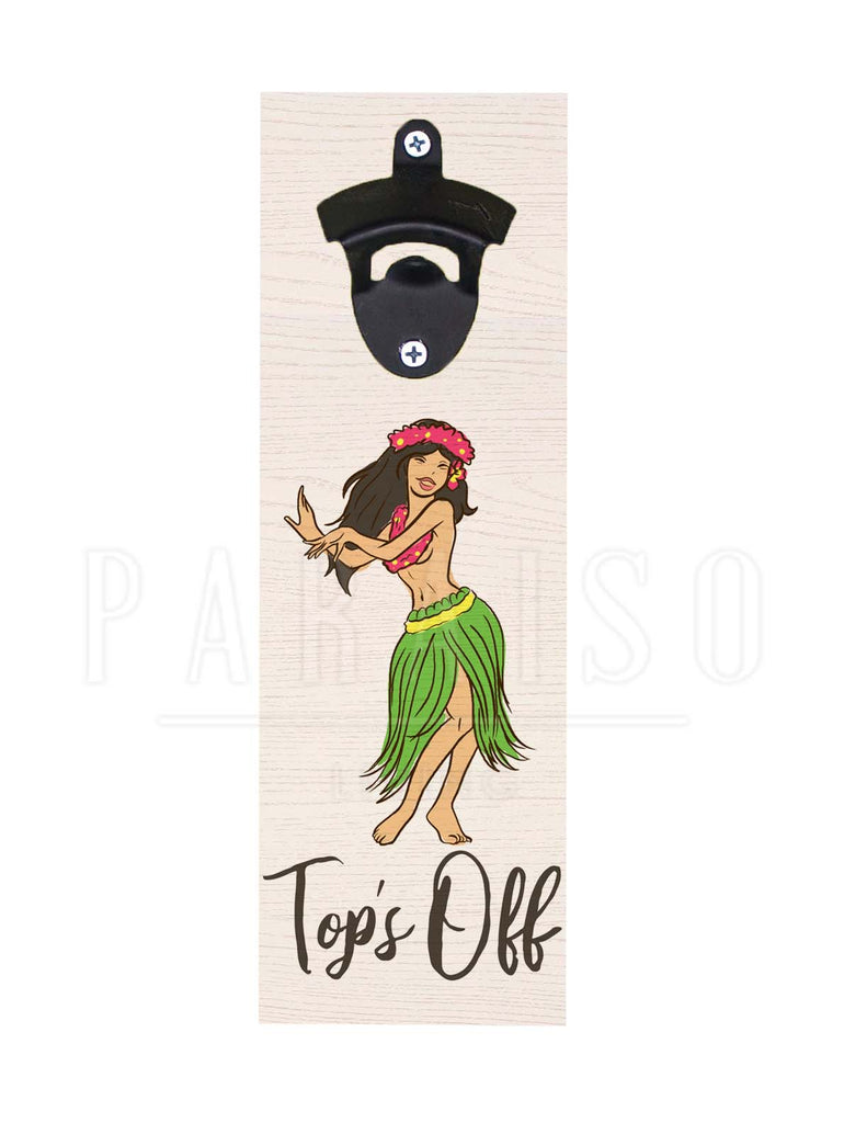 Hula Girl Top's Off