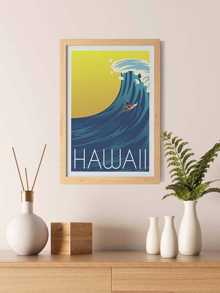 Large Wave Hawaii