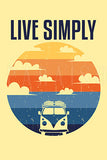 Live Simply Retro Van