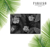 Tropical Vintage Plants Black and White