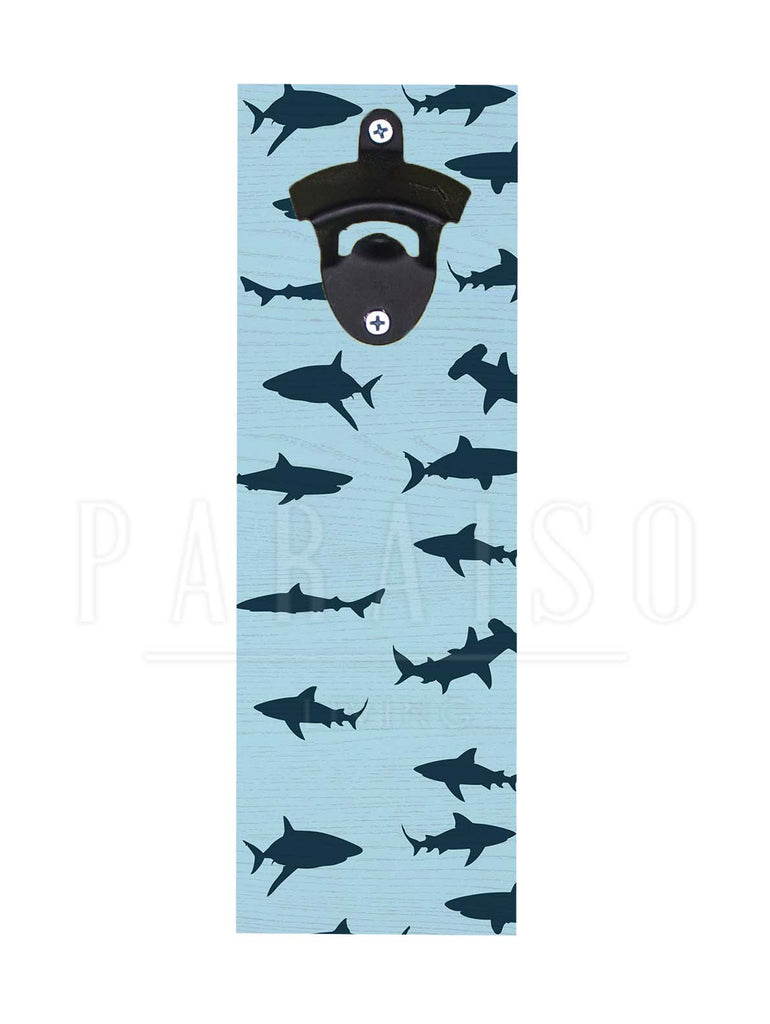 Sharks Pattern Blue