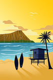 Diamond Head Retro Beach