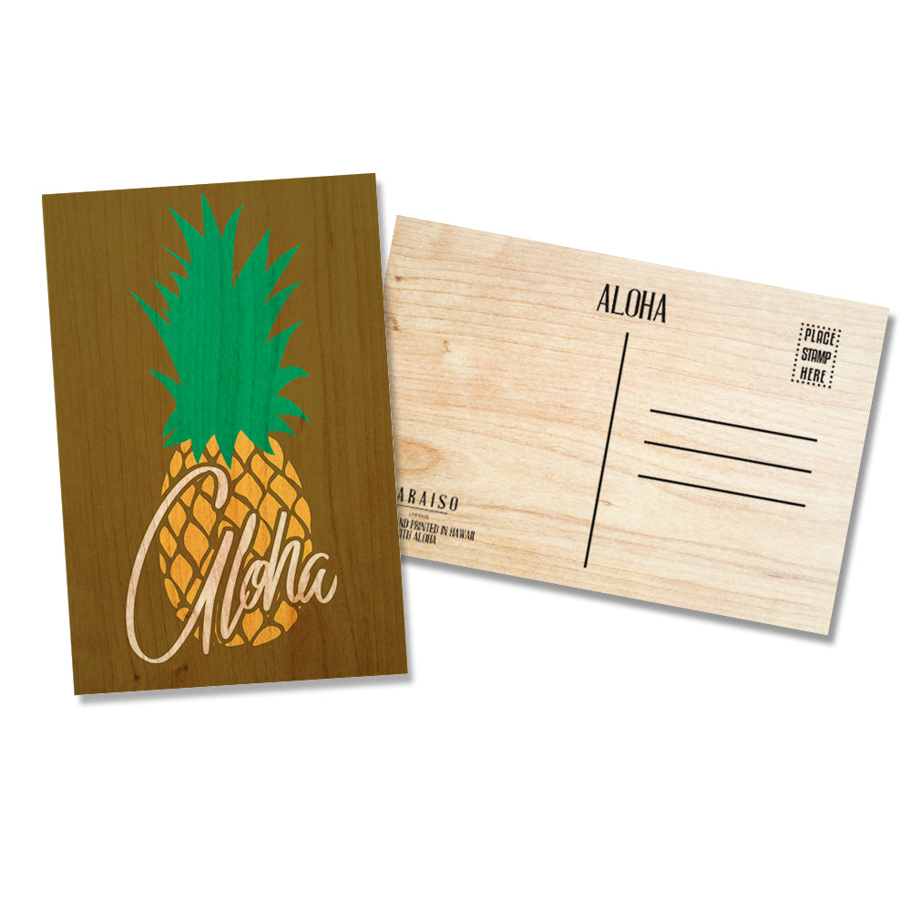 Pineapple Aloha Brown