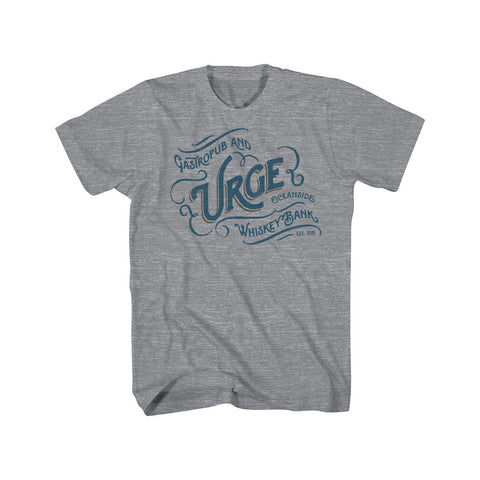 Urge Script Women Scoop T-Shirt