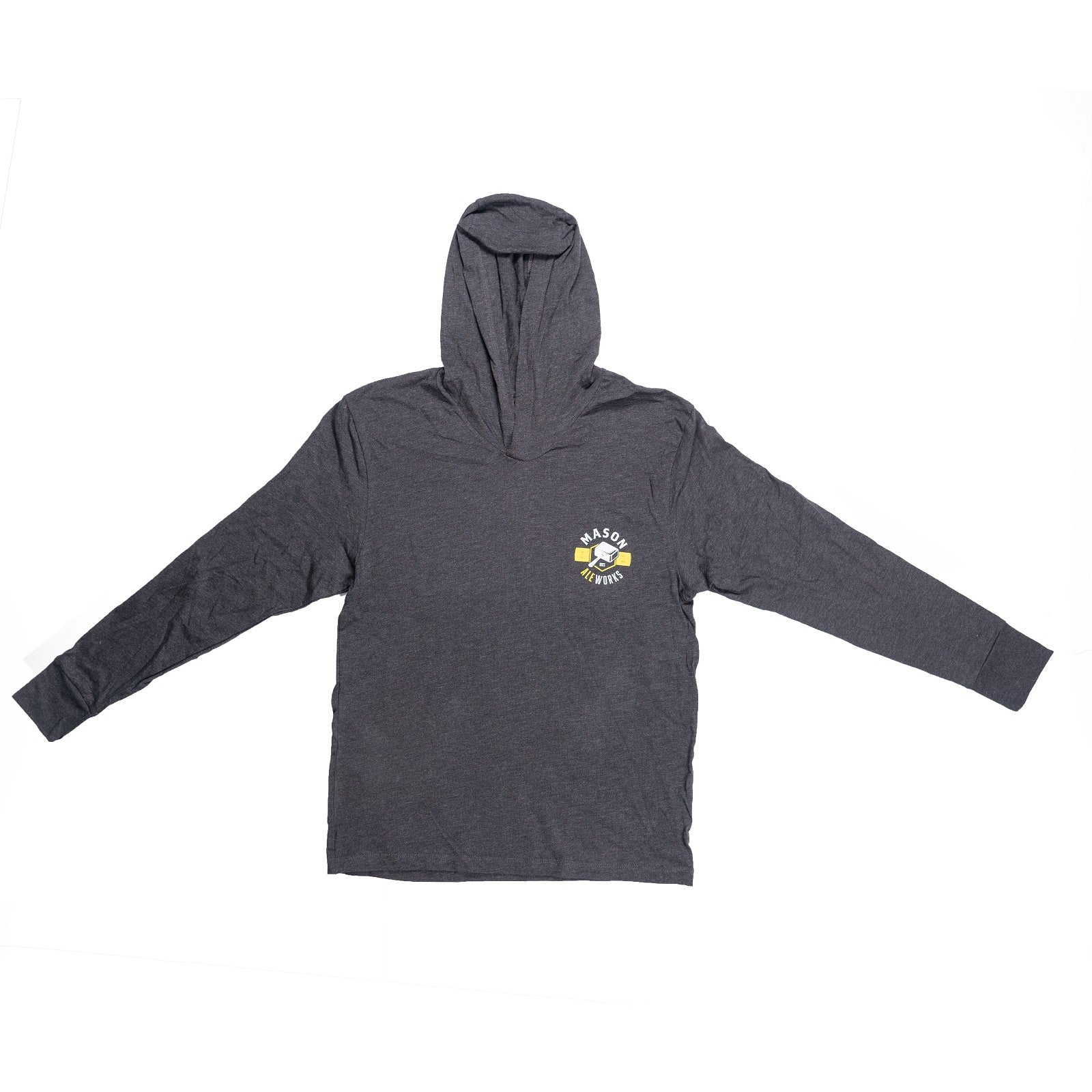 Mason Ale Works Hooded Long Sleeve Tee