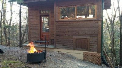 Off Grid Fire Pit