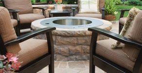 Stainless Steel Zentro Fire Pit