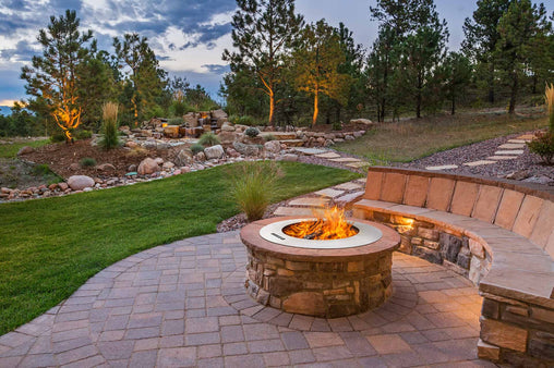 Zentro Stainless Steel Smokeless Fire Pit