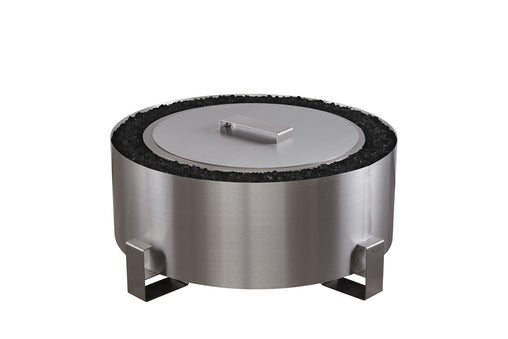 Luxeve Smokeless Fire Pit Stainless Steel Breeo