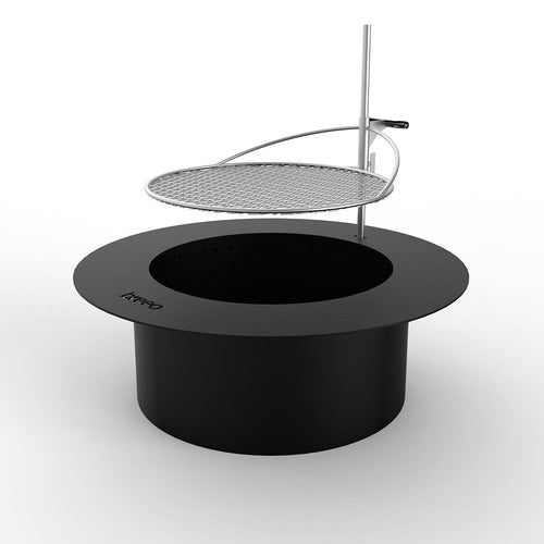 Zentro Stainless Steel Smokeless Fire Pit Breeo