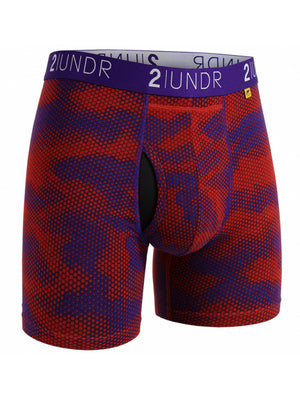 2UNDR Swing Shift Boxer: Lava