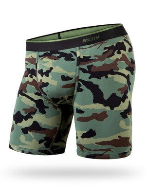 BN3TH Classic Boxer Brief: Camo Green