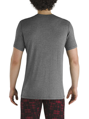 SAXX Sleepwalker T-Shirt: Dark Charcoal Heather