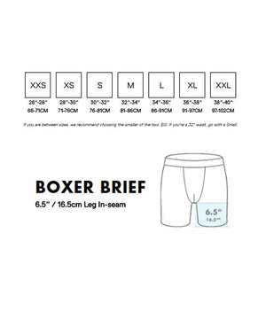BN3TH Classic Boxer Brief: Charcoal