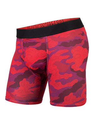 BN3TH Entourage Boxer Brief: Camo Lurk Red
