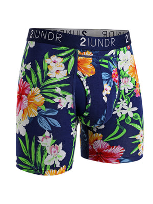 2UNDR Swing Shift Boxer: Tahiti