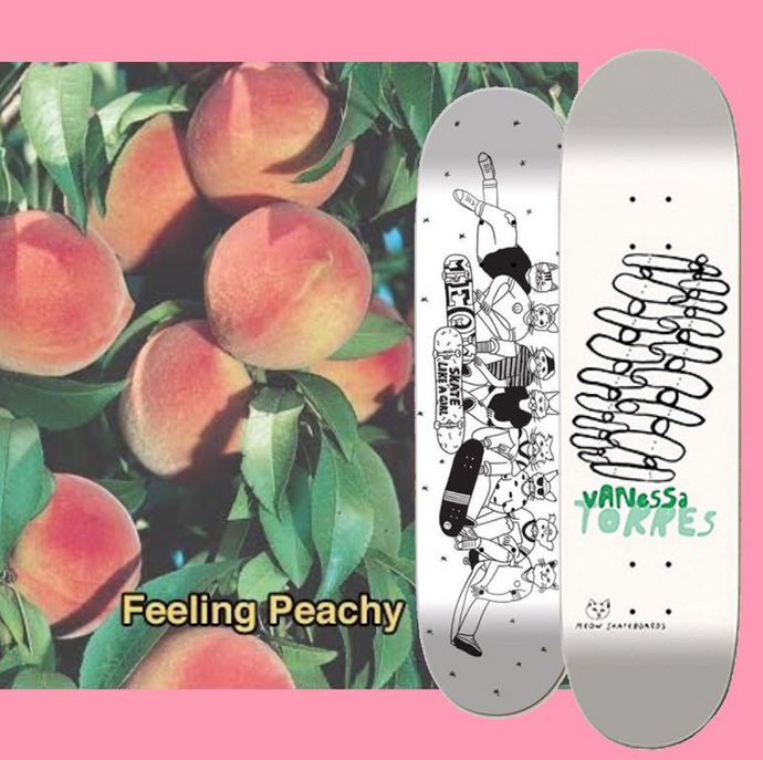 Feeling Peachy - Skate like a girl