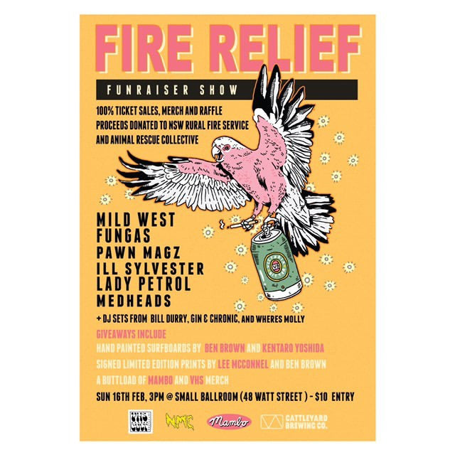 FIRE RELIEF FUNDRAISER @SMALL BALLROOM