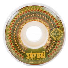 Load image into Gallery viewer, MANDALA 54MM FUNNEL CUT WHEELS - GREEN