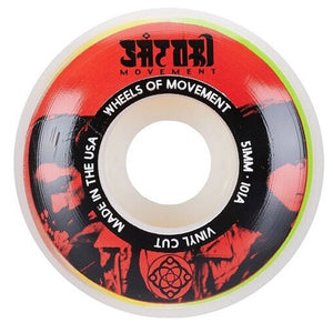 VINYL CUT 51MM WHEELS - RED