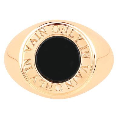 ONYX ECLIPSE RING