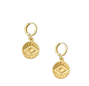 Gold Mati Earrings