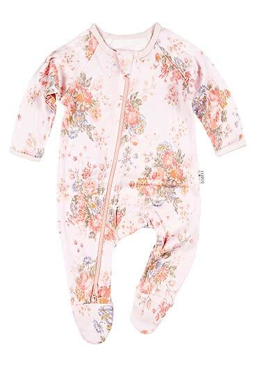 Cotton Baby Onesie - Louisa