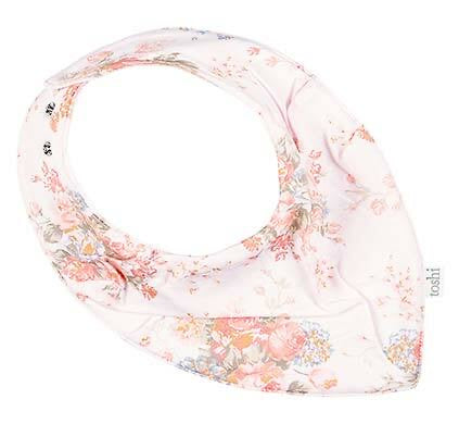 Cotton Baby Bib Bandana - Louisa